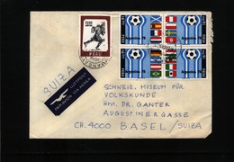 Peru World Football Championship In Argentina Interesting Airmail Letter - 1978 – Argentine