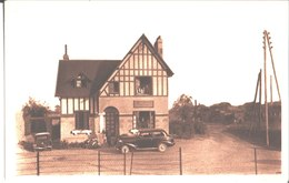 Gare De Bretteville Norrey. L'Hotel Des Cultivateurs. - Other Municipalities