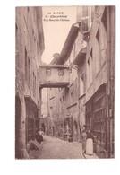 73 Chambery Rue Basse Du Chateau Cpa Carte Animée - Chambery