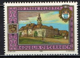 AUSTRIA - 1988 - 8° CENTENARIO DI FELDBACH - MNH - 1945-.... 2nd Republic