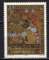 AUSTRIA - 1987 - OPERA D'ARTE DI GUSTAV KLIMT - PAINTING - MNH - 1945-.... 2nd Republic