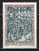 AUSTRIA - 1987 - MOSTRA REGIONALE DELL'ALTA AUSTRIA - MNH - 1945-.... 2nd Republic