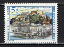 AUSTRIA - 1987 - 7° CENTENARIO DI DIRITTO URBANO DELLA CITTA' DI SALISBURGO - MNH - 1945-.... 2nd Republic