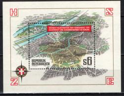 AUSTRIA - 1986 - VEDUTA DI VIENNA - FOGLIETTO - SOUVENIR SHEET - MNH - 1945-.... 2nd Republic