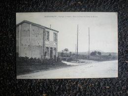 """Domgermain, Passage à Niveau Dans Le Fond Les Côtes St-michel, Café """" Rendez-vous Des Voyageurs """" (J5) - Autres Communes"""