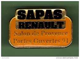 RENAULT *** SAPAS SALON DE PROVENCE *** PORTES OUVERTES 91 *** A046 - Renault