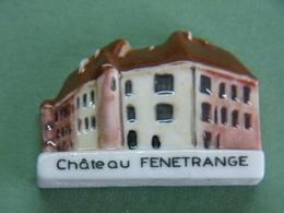 Fève - Série Pays De SARREBOURG Le Château De FENETRANGE - Ville Fénétrange 57 Moselle - Fèves