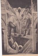 MINEROS ESCULCADDOS AL SALIR DEL TRABAJO. FRESCO BY DIEGO RIVERA. MINISTRY OF EDUCATION, MEXICO-BLEUP. - Peintures & Tableaux