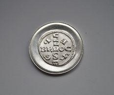 M/15 Médaille ARGENT 1965 : Millénaire Du Monnayage à Bruxelles (965-1965) - SILVER - SILBER - Medaillen
