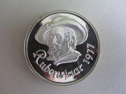 M/20 Médaille ARGENT 1977: 400ème Anniversaire Naissance RUBENS (1577-1977) SILVER - SILBER - Medaillen