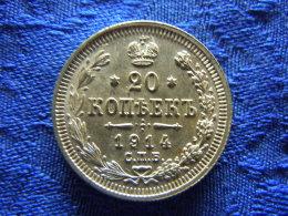 RUSSIA 20 KOPEKS 1914, KM22a.1 - Rusia