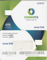 GREECE - Cosmote GSM(nano Sim), Used - Greece
