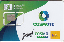 GREECE - Cosmote GSM(multi Sim), Chip 4, Used - Greece