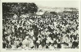 """826 """" AFRICA ORIENTALE - BALLO DI PRETI COPTI PER LA FESTA DI MARIA """" FOTOCART ANIM NON SPED. - Etiopia"""