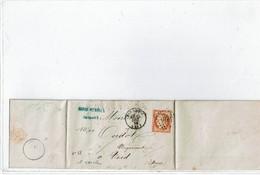 LCA4 -  CERES 40c SUR LAC BAR LE DUC / VOID 1312/1873 - 1870 Assedio Di Parigi