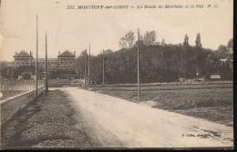 77 --  Montigny - Sur - Loing -- La Route De Marlotte Et Le Nid - Other Municipalities
