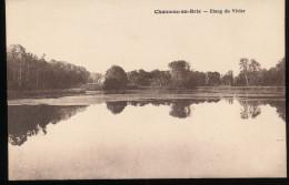 77 -- Chaumes - En - Brie -- Etang Du Vivier - France