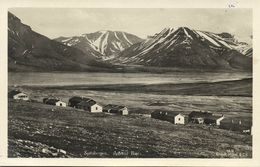 Norway, SPITSBERGEN SVALBARD, Advent Bay With Houses (1930s) RPPC Postcard - Norway