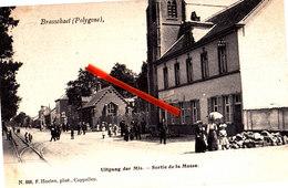 BRASSCHAET (Polygone) - Uitgang Der Mis - Sortie De La Messe - Brasschaat