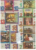 LITHUANIA - ZEMAITIJA  REGION  SET  OF : 1+2+3+4+5+7+10+13+20 ZEMAICIU  LITU-2005 - Lithuania