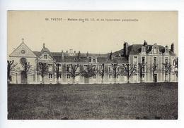 CPA Yvetot Maison Des S.S.C.C. Et De L'Adoration Perpétuelle SS. CC. SSCC - Yvetot