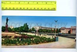 228781 Tajikistan Dushanbe Lenin Square Old Postcard - Tajikistan