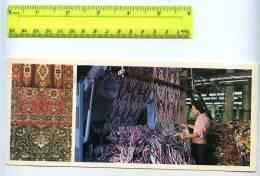 228806 Tajik Leninabad Khujand Carpets Shop Shelkokombinat - Tajikistan