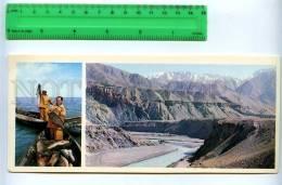 228807 Tajikistan Leninabad Khujand Fishing Tajik Sea Postcard - Tajikistan