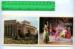 228809 Tajikistan Leninabad Khujand Drama Theatre Old Postcard - Tajikistan