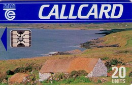 TARJETA TELEFONICA DE IRLANDA, COTTAGE, DAME LINE. 1023p (008) - Irlanda
