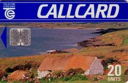 TARJETA TELEFONICA DE IRLANDA, COTTAGE, DAME LINE. 1023a (009) - Irlanda