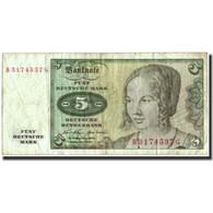 Billet, République Fédérale Allemande, 5 Deutsche Mark, 1970, 1970-01-02 - 5 Deutsche Mark