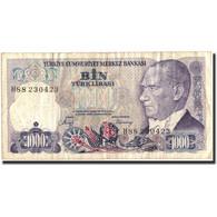 Billet, Turquie, 1000 Lira, 1986, 1986, KM:196, TB+ - Turquia