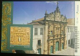 L) 2017 BRAZIL, ARCHITECTURE, CHURCH, CHURCH OF THE 3rd SECULAR ORDER OF SAO FRANCISCO DE BAHIA, MNH - Brasil
