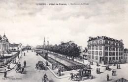 29 - Finistere -  QUIMPER -  Hotel De France - Boulevard De L Odet - Quimper