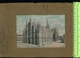229650 ITALY Ricordo Di MILANO Vintage ALBUM With 32 Views - Books, Magazines, Comics