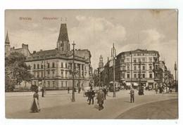 21560   CPA BRESLAU  / WROCLAW ; Königsplatz   1916 , Top ! - Polonia