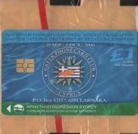 CYPRUS - Cyta, Greenpeace / Greek Phonecard Club Exhibition, 1 £, 2.000ex, 9/00, Mint - Cyprus