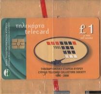CYPRUS - Cyta, Cyprus Telecard Collect. Society 1995-2000 / Cyprus Moufflon, 1 £, 2.500ex, 9/00, Mint - Cyprus