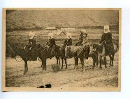 232530 USSR KIRGHIZIA KARAKOL On Way Women Rider Vintage GIZ - Kyrgyzstan