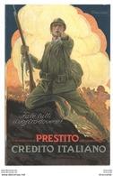 MAUZAN PRESTITO CREDITO ITALIANO PRESTITO NAZIONALE FATE TUTTI IL VOSTRO DOVERE - CARTOLINA - 1900-44 Vittorio Emanuele III