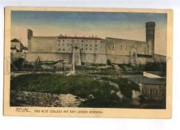232991 ESTONIA REVAL TALLINN Old Castle Vintage Postcard - Estonia