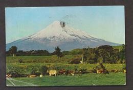 Mt Egmont, Okato, New Zealand - Used Corner Creases Lower Left - New Zealand