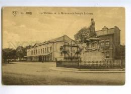 235330 BELGIUM HUY Theatre Monument Joseph Lebeau Old Postcard - Huy