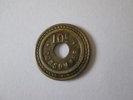 French Token/jeton Bon Pour Consommer 30 Centimes - France