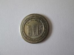 French Token/jeton Bon Pour Consommer 10 Centimes - France