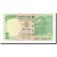 Billet, Inde, 5 Rupees, Undated (2002), KM:88Ac, NEUF - India