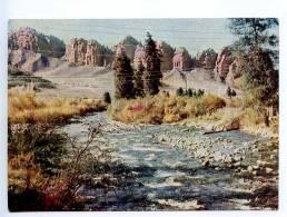 238945 Kyrgyzstan Jets-Oguz River Old Postcard - Kyrgyzstan