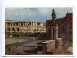 238983 USSR ARMENIA Yerevan Lenin Monument Old Postcard - Armenia