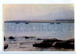 237271 Kazakhstan Issyk-Kul Lake Fishing Old Postcard - Kazakhstan